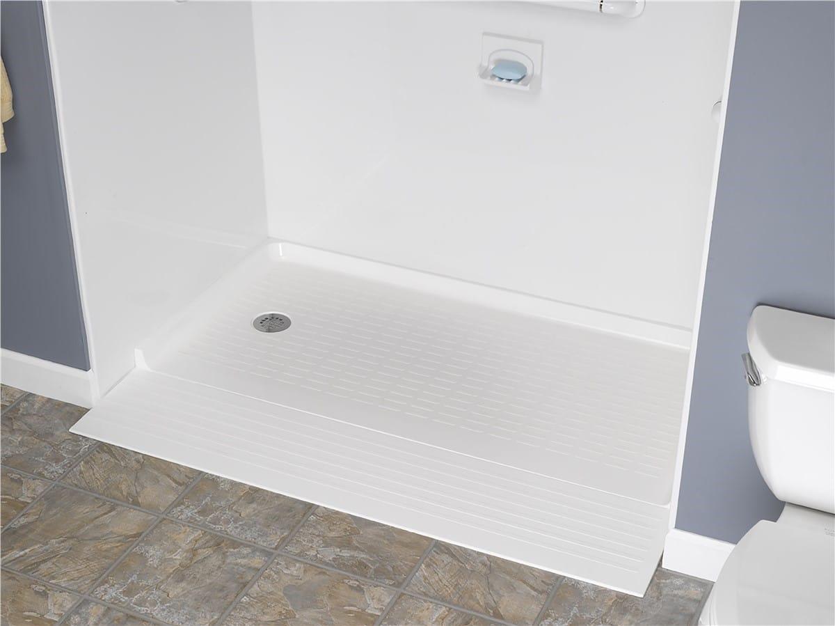 Barrier Free Shower Base South Florida - bathrooms plus
