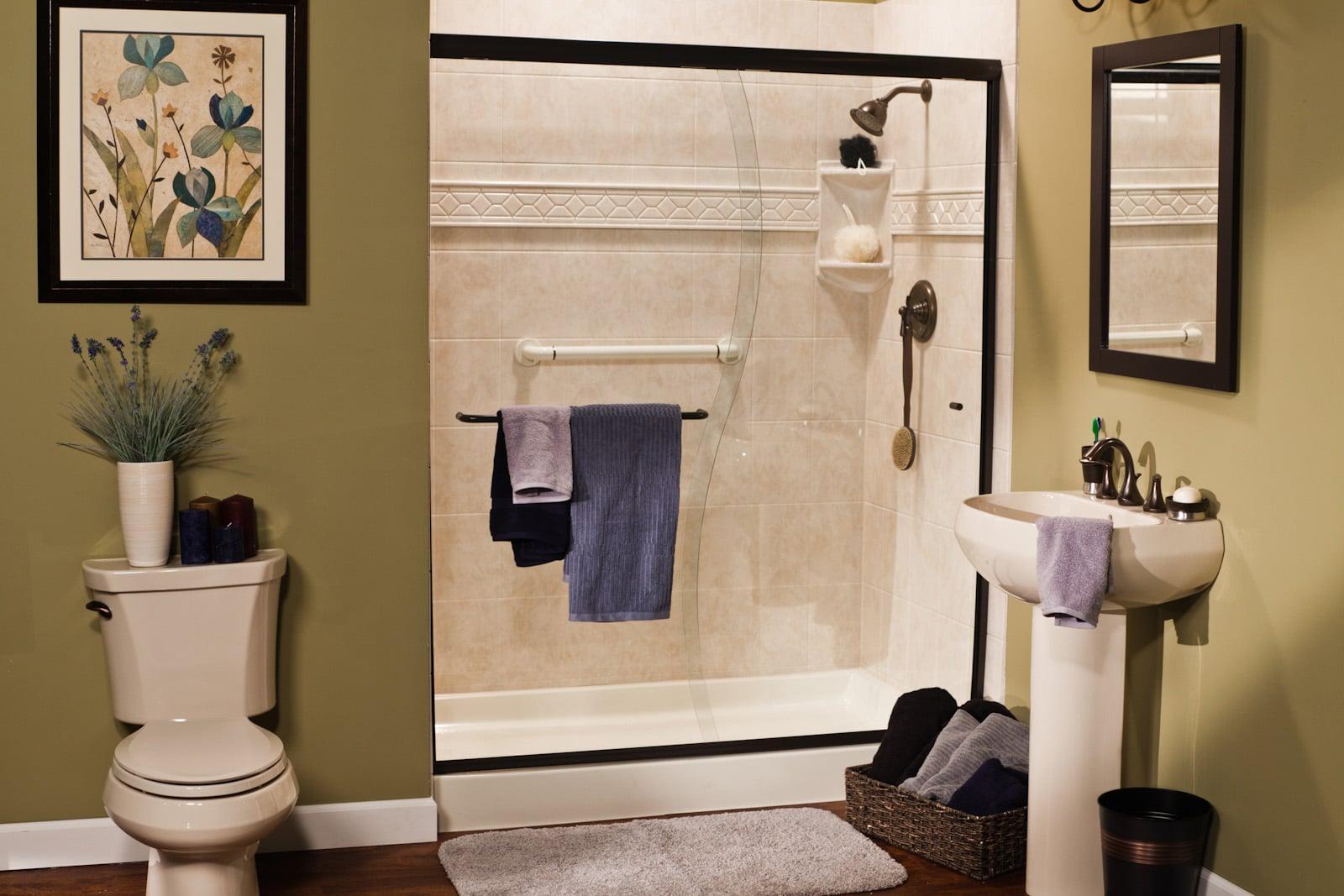 South Florida Tub to Shower Conversions - Bathrooms Plus Inc (9)